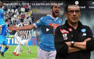 napoli sarri video gol calcio