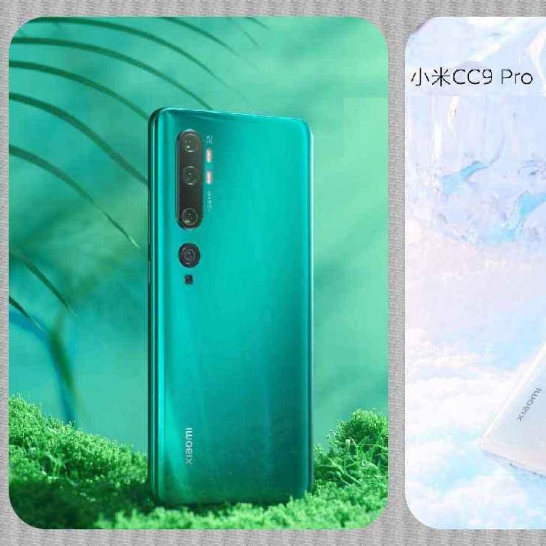 Xiaomi CC9 Pro Pro è stato presentato ufficialmente: lo smartphone con fotocamera da 108 MP (da noi sarà Mi Note 10)
