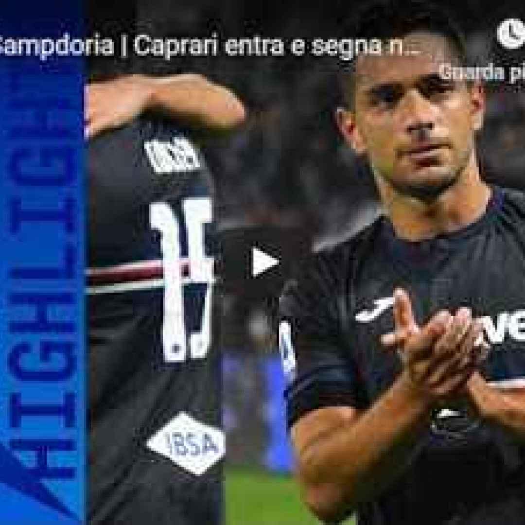 SPAL - Sampdoria 0-1 - Guarda Gol e Highlights - VIDEO