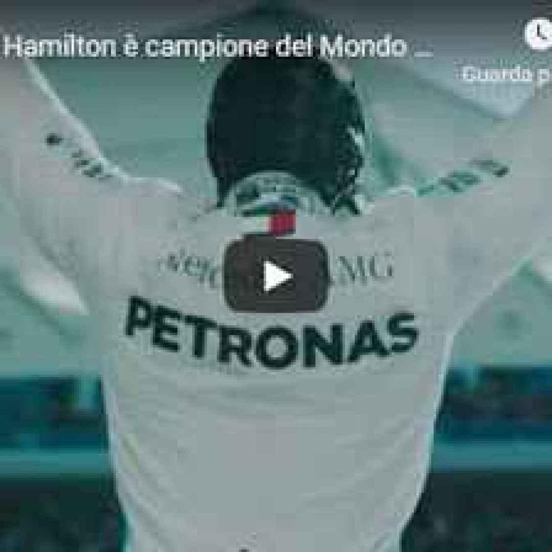 Lewis Hamilton è campione del Mondo per la sesta volta in carriera - Carlo Vanzini - VIDEO