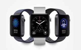 xiaomi mi watch  wear os  miui for watch