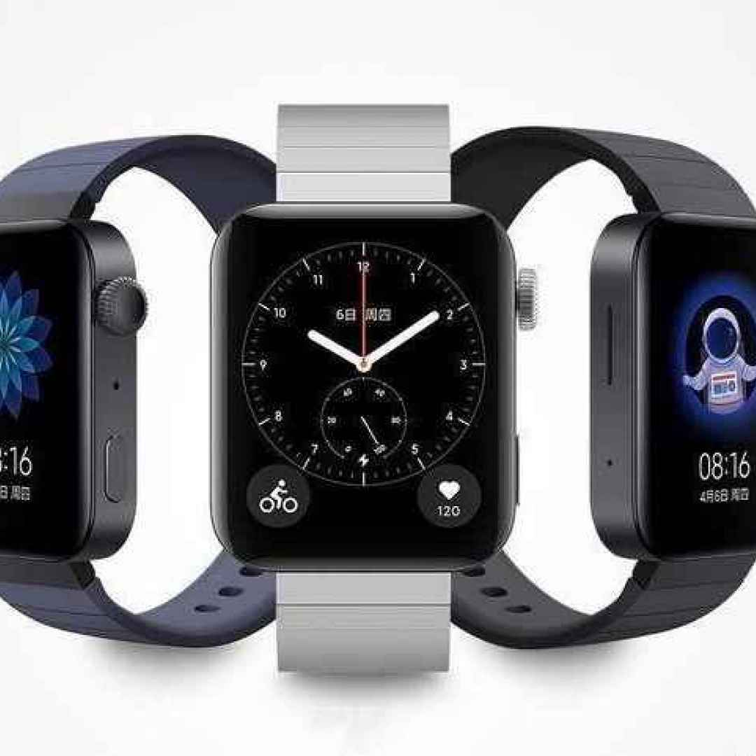Xiaomi Mi Watch presentato ufficialmente: anche Xiaomi ha il suo smartwatch con Wear OS (ma senza rinunciare alla MIUI)