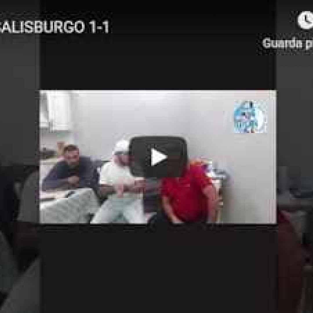 Malato del Napoli - Napoli-Salisburgo 1-1 - VIDEO