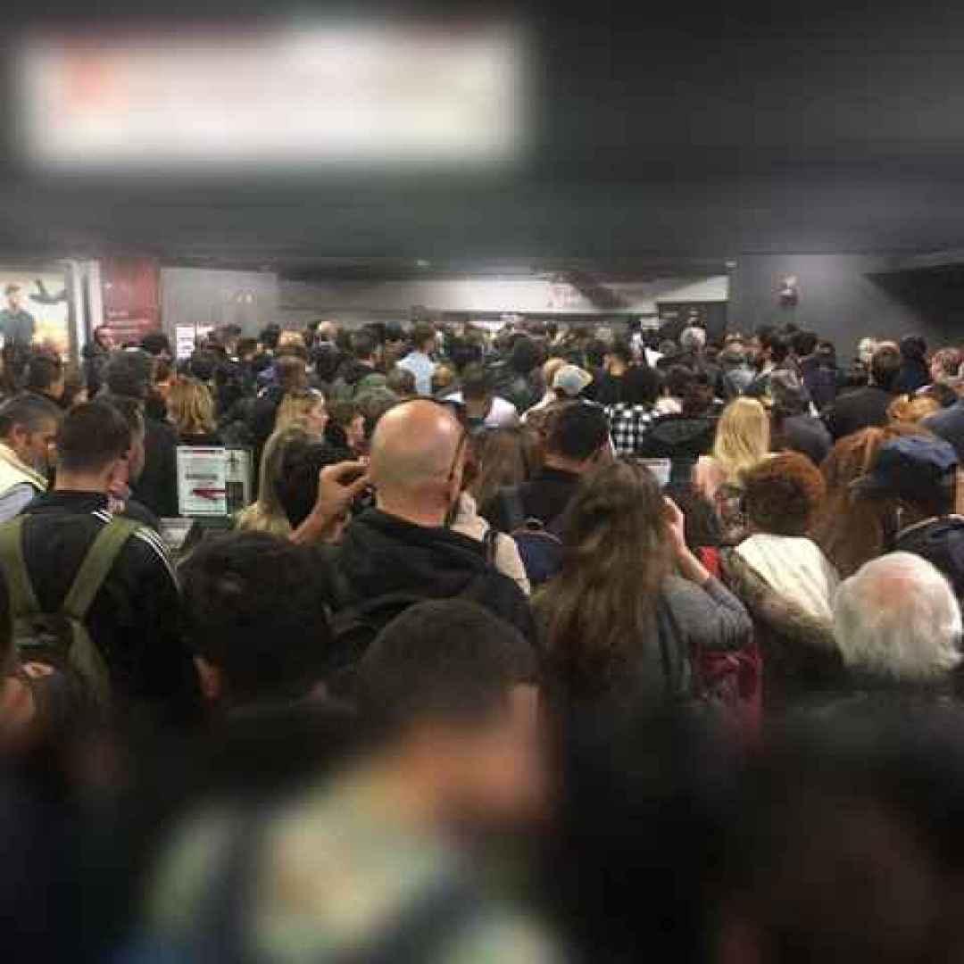 San Giovanni: i guai den nodo di scambio tra #MetroA e #MetroC