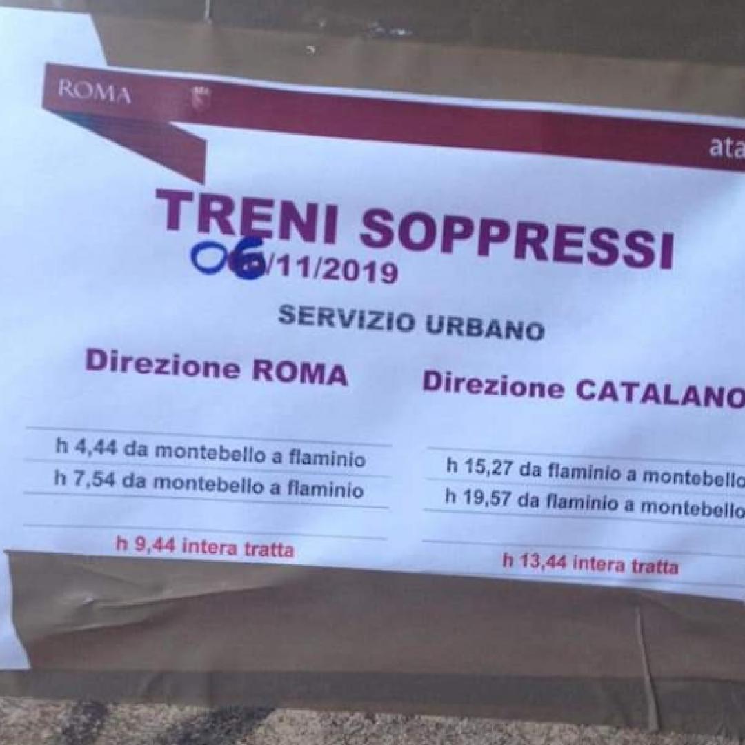 #Atac: il silenzio sulla Roma-Nord
