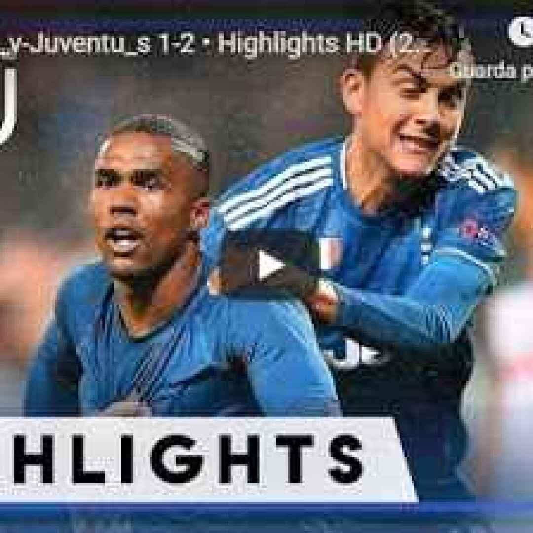 Lokomotiv Mosca - Juventus 1-2 - Guarda Gol e Highlights - VIDEO