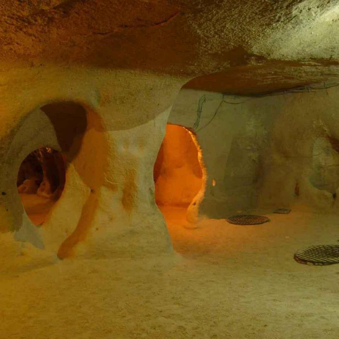 città sotterranea  derinkuyu  rifugio