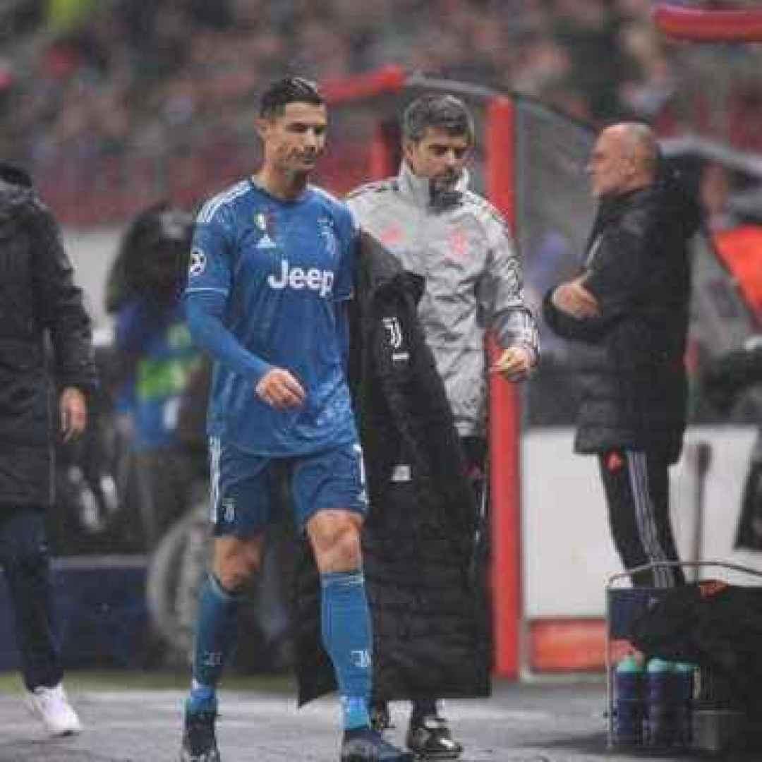 "Juve, Sarri: ""Cristiano Ronaldo arrabbiato?"""