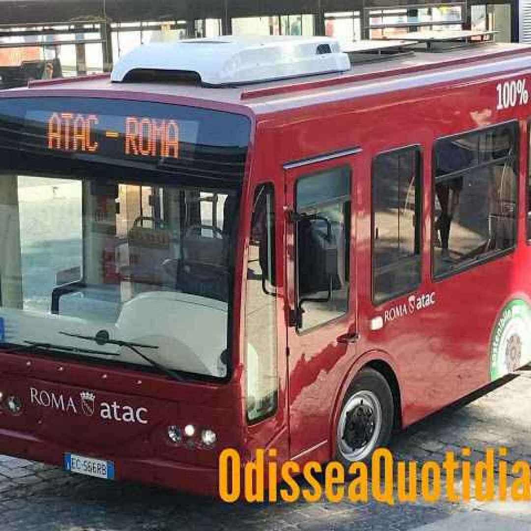 #Atac - La nuova linea di minibus 121