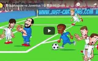 juventus lokomotiv video calcio gol