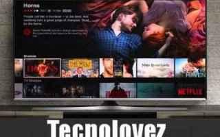 Televisione: netflix netflix tv samsung