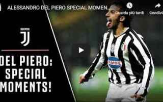 Calcio: juventus juve calcio video del piero