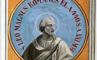 Religione: attila  papa leone magno  raffaello