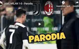 Calcio: juventus milan video gli autogol