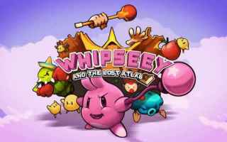 Mobile games: whipseey kirby iphone giochi arcade