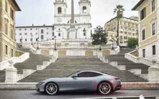 Automobili: ferrari  roma  granturismo