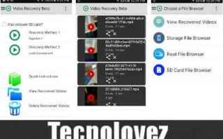 App: video recovery video app android