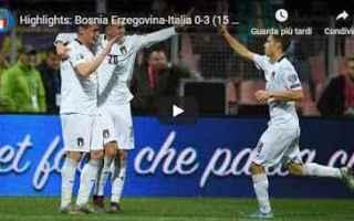 italia video calcio azzurri nazionale