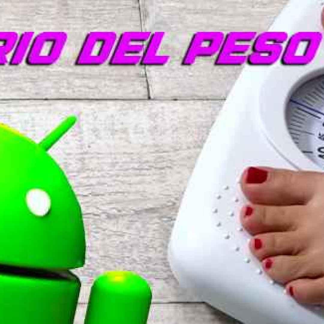peso salute dieta android diario apps
