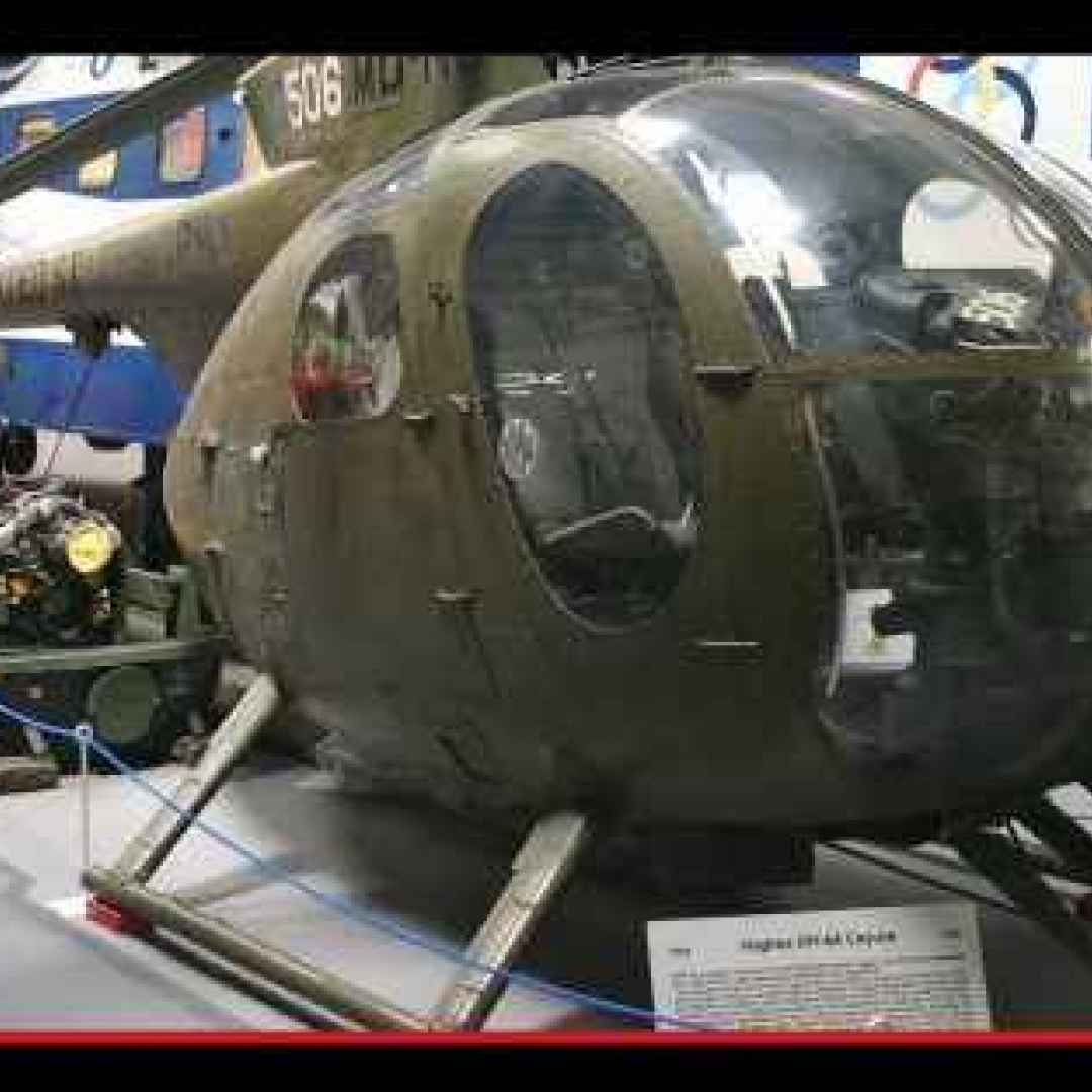 OH6 Cayuse: il sibilo del vento è un elicottero da guerra nordamericano