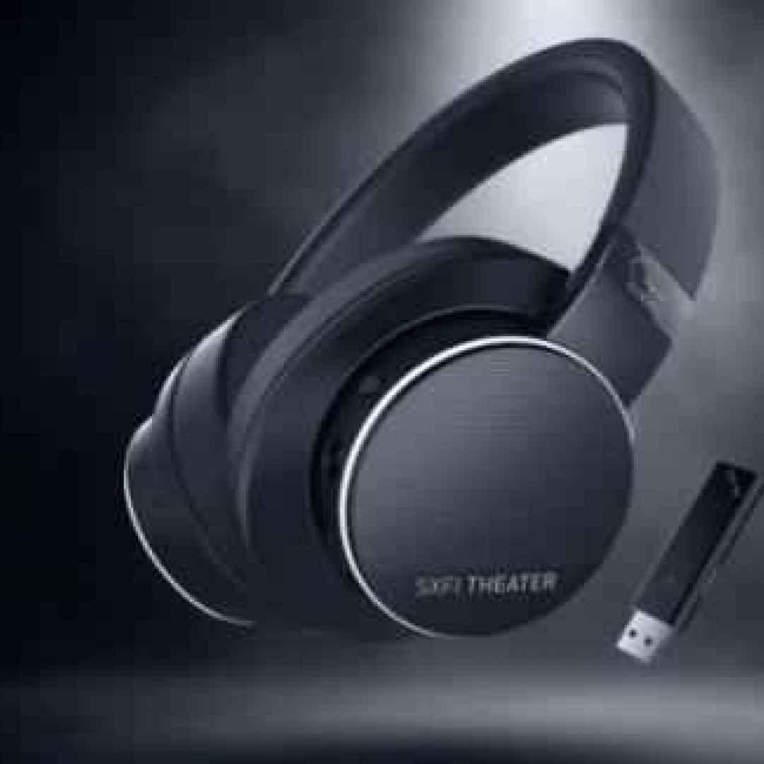 SXFI Theater. Da Creative le cuffie ibride a bassa latenza con audio posizionale