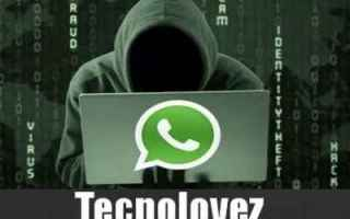 WhatsApp: whatsapp allarme sicurezza virus