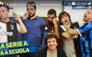 Serie A: calcio gli autogol video serie a scuola