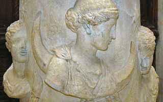 Cultura: selene  luna piena  mitologia  zeus