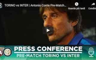 Serie A: inter conferenza video conte calcio