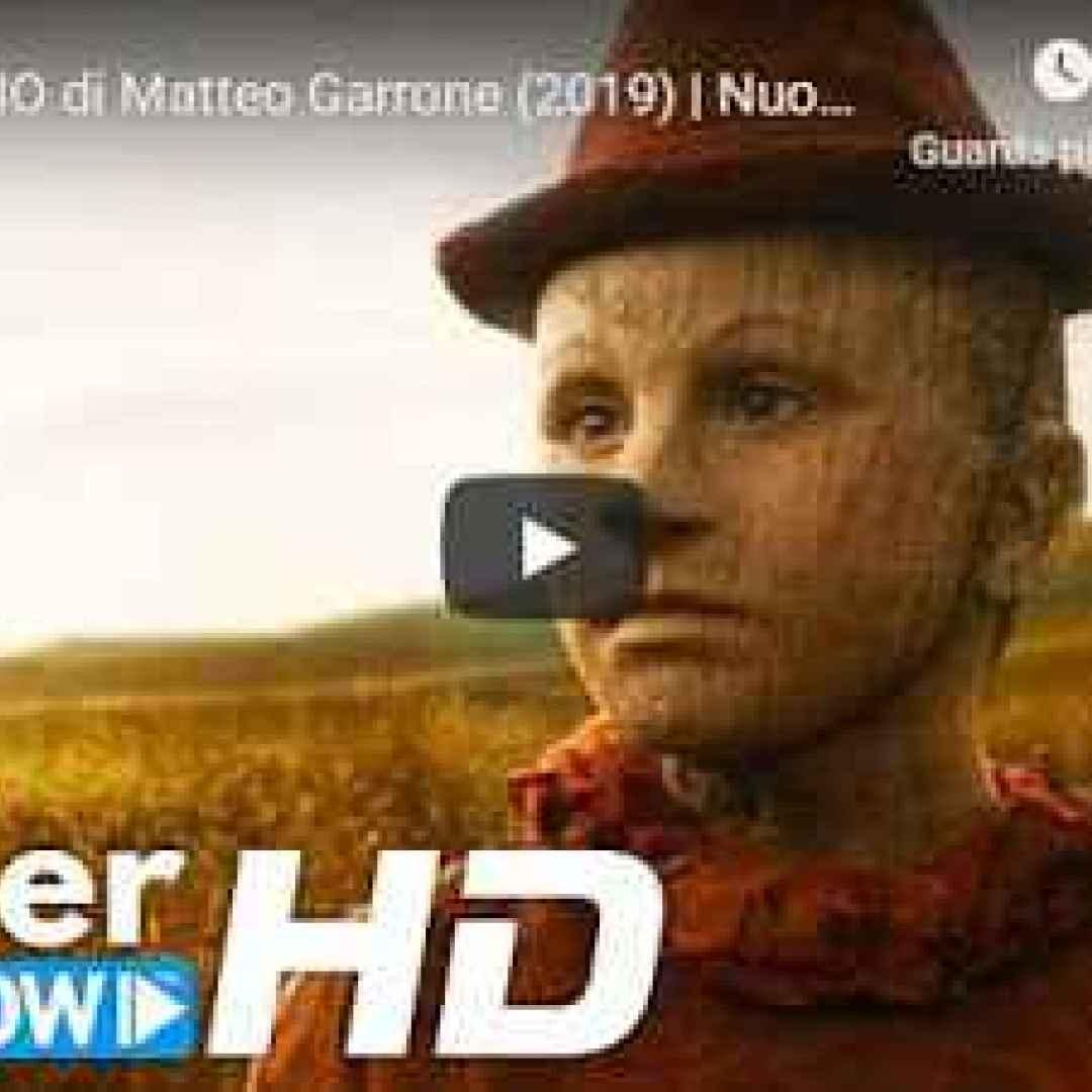 pinocchio cinema trailer video film