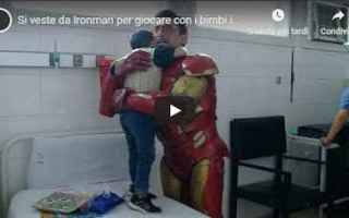 dal Mondo: argentina ironman bimbi ospedale video