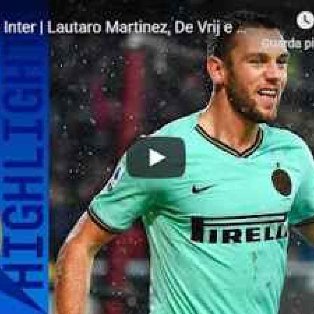 torino inter video gol calcio