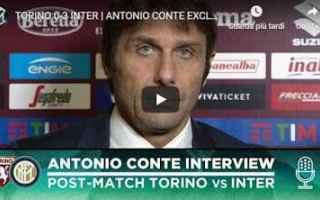 Serie A: inter conte video intervista calcio