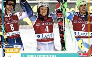 Il primo slalom speciale senza Marcel Hirscher a Levi, ha visto confermare i pronostici della vigili