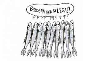 Politica: sardine  salvini elezioni emilia romagna