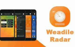 Android: meteo android pioggia clima apps gratis