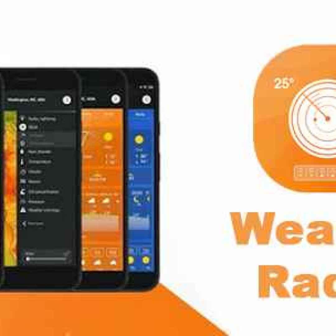 meteo android pioggia clima apps gratis