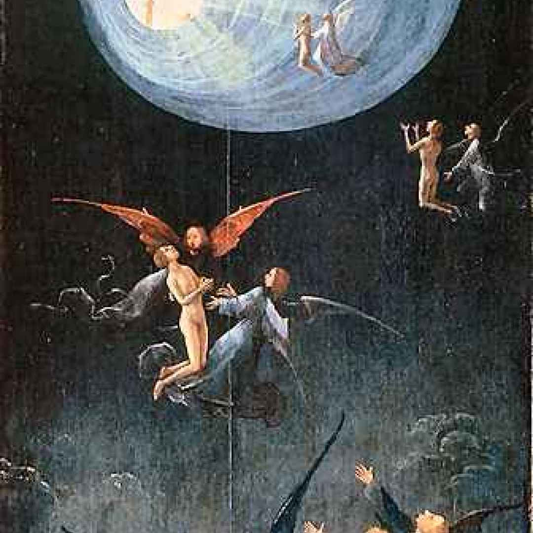ascesa all'empireo  hieronymus bosch