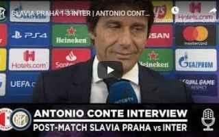 inter intervista conte video calcio