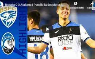 Serie A: brescia atalanta video gol calcio