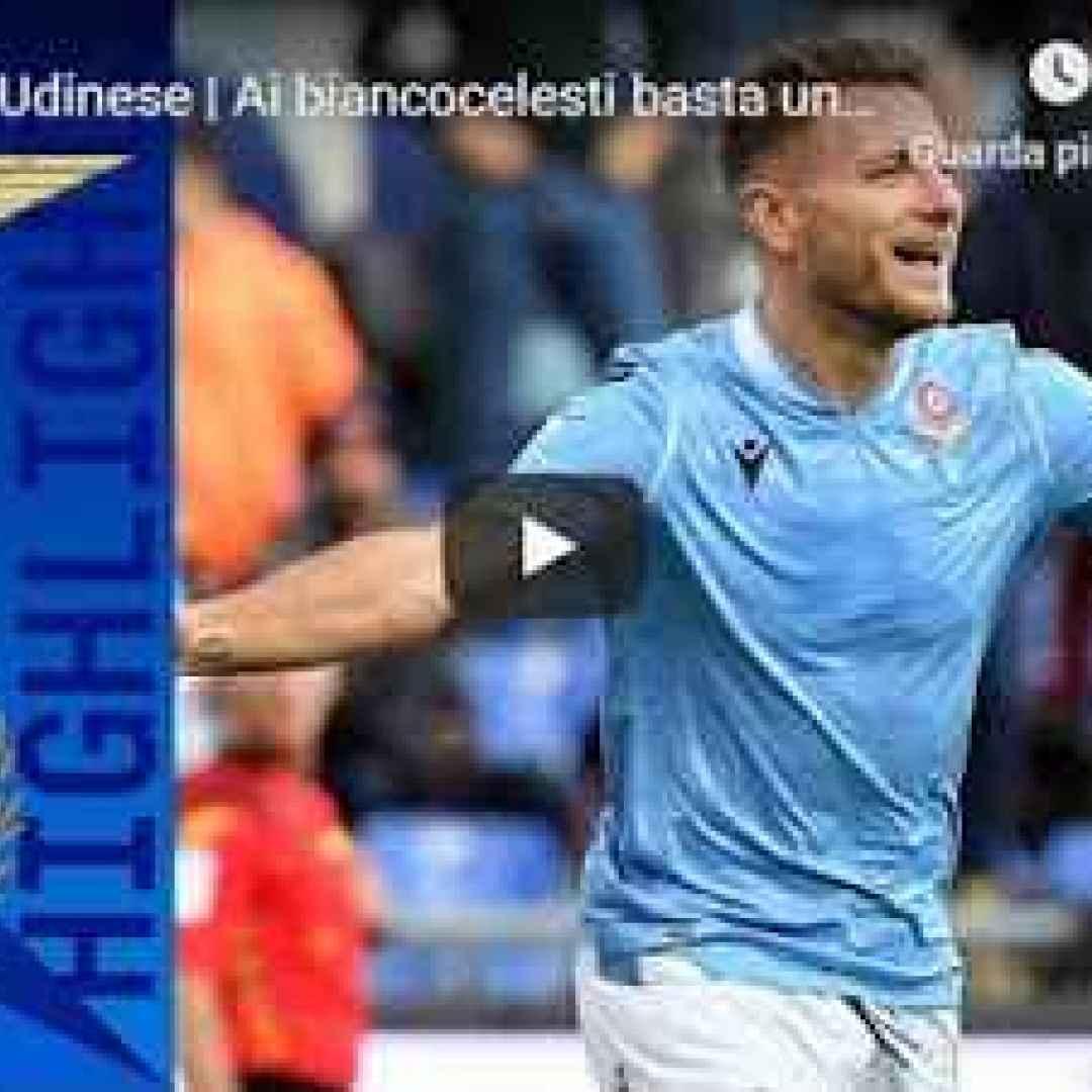 Lazio - Udinese 3-0 - Guarda Gol e Highlights - VIDEO (Lazio)