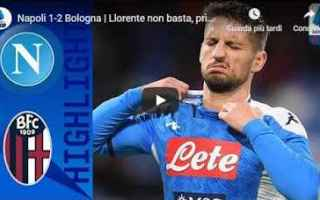 Serie A: napoli bologna video gol calcio