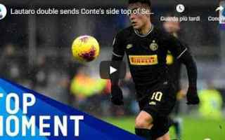 Serie A: inter lautaro video conte calcio