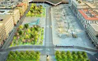 Napoli: piazza garibaldi  napoli  de magistris