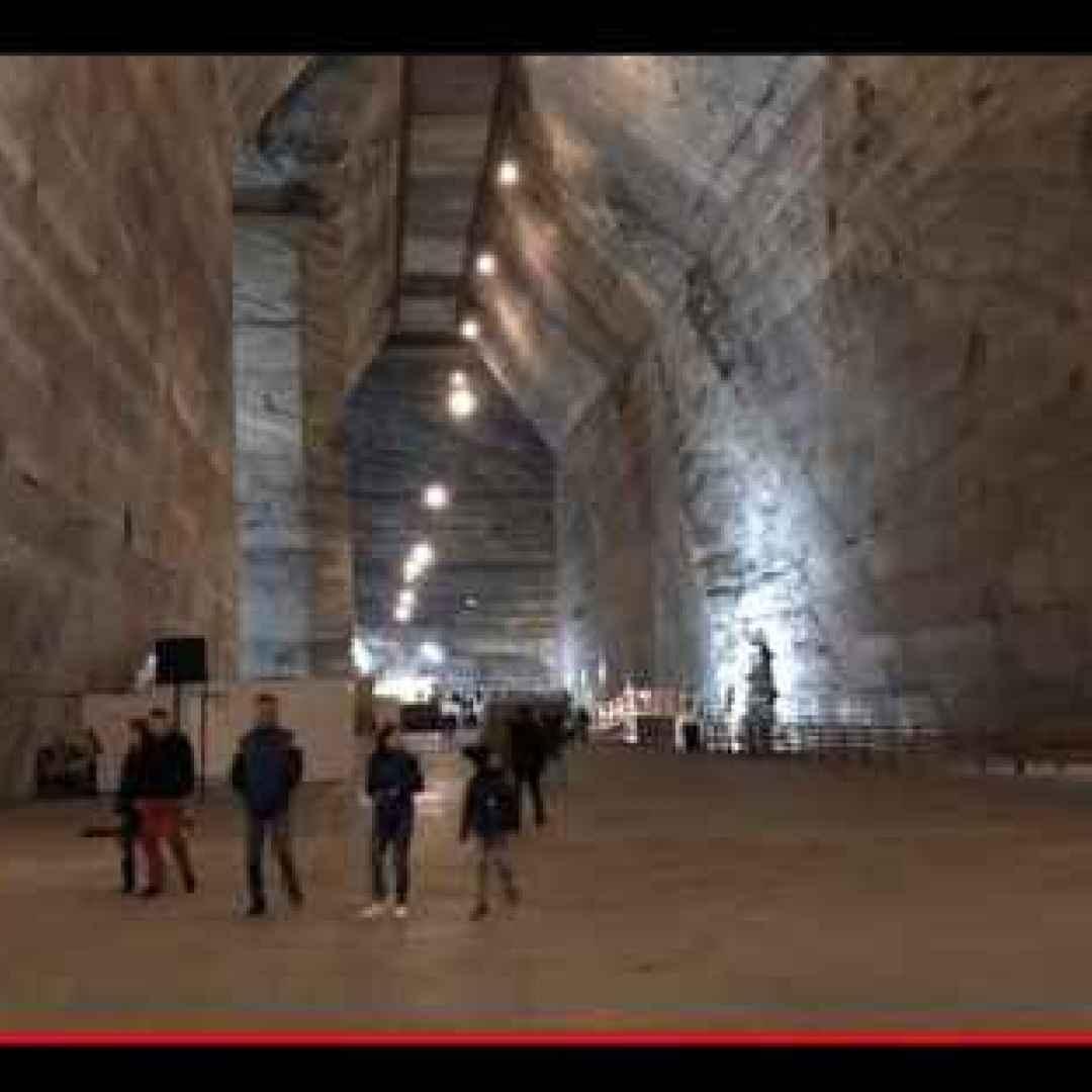 sottosuolo  miniere  saline  romania