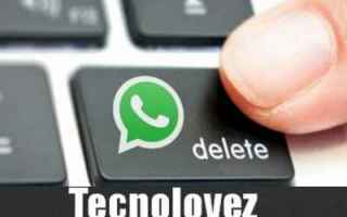 WhatsApp: whatsapp eliminare contatto