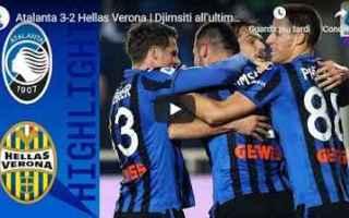 atalanta verona video calcio gol