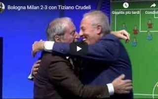 milan video tiziano crudeli calcio
