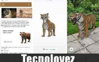 animali realtà aumentata google