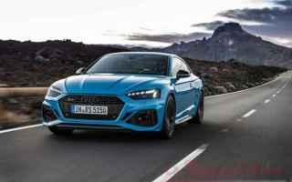 Arriva la versione rinnovata dellAudi RS5 nelle due declinazioni coupé. Arriverà a Marzo del 2020